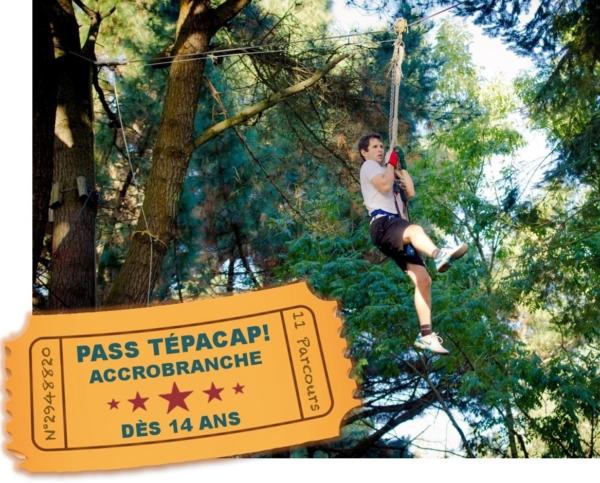 Billetterie Pass Tépacap! Accrobranche la Vallée des Korrigans Savenay