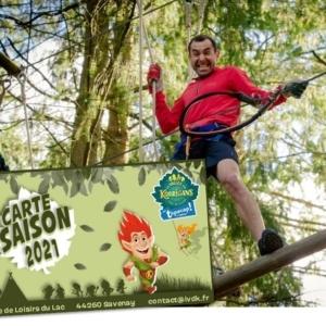Carte Saison Pass Tépacap! Accrobranche la Vallée des Korrigans Savenay