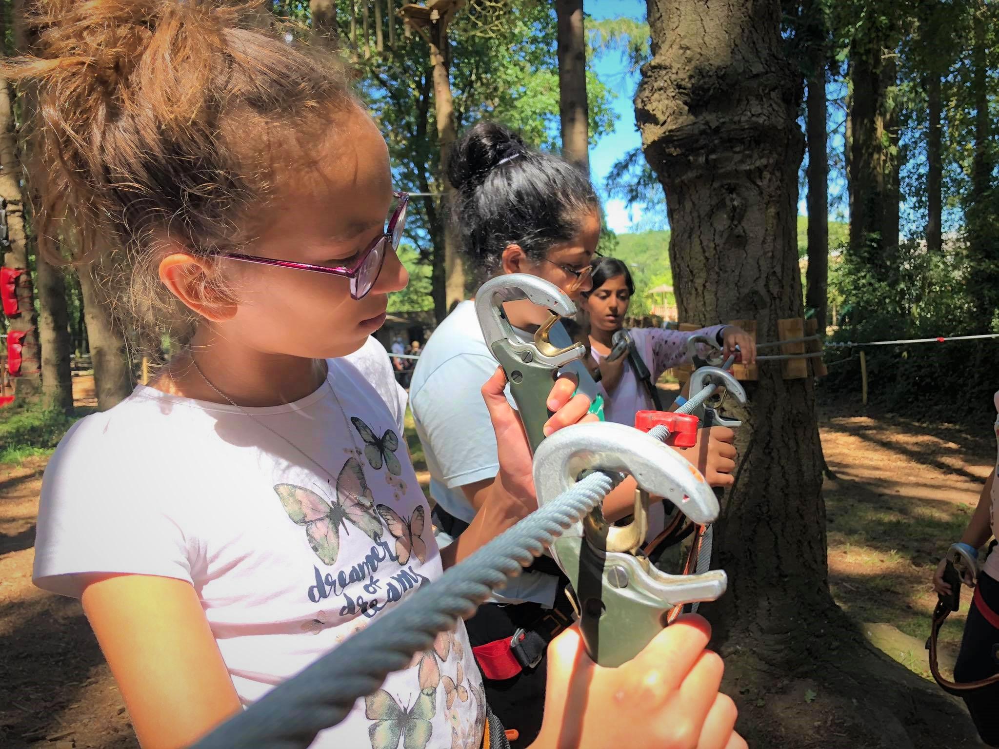 Sortie scolaire loire atlantique savenay accrobranche parc de loisirs