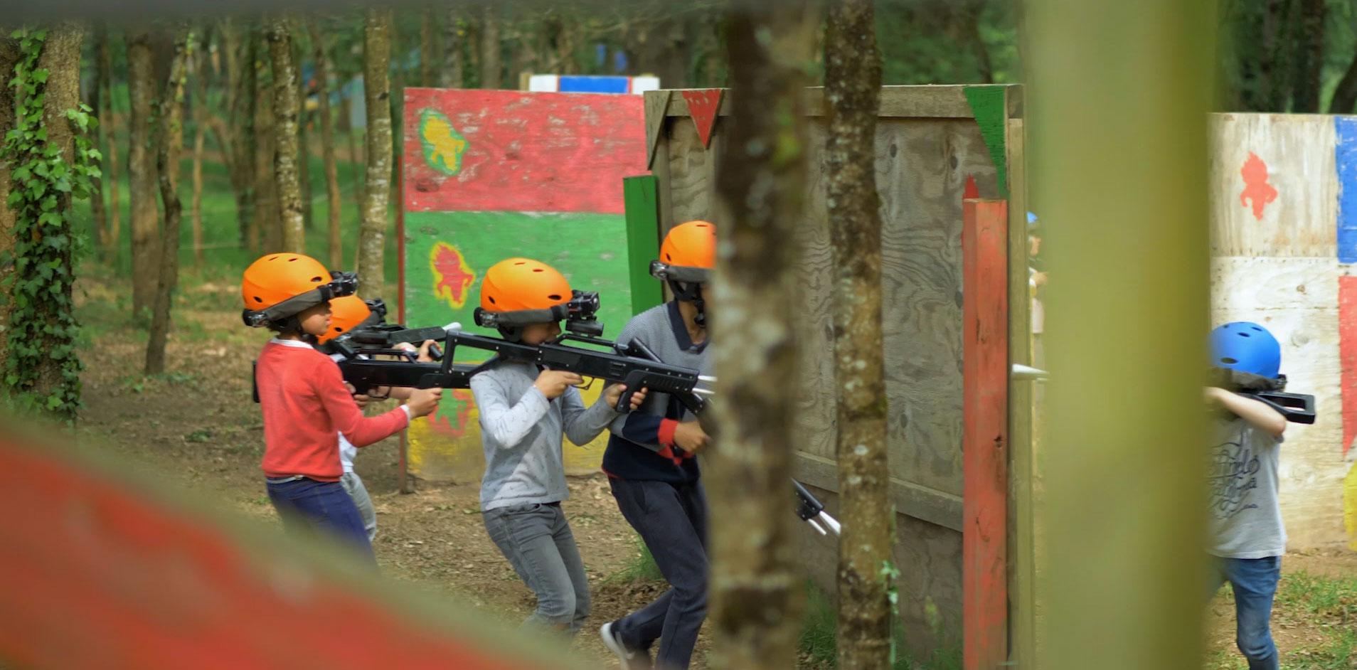 sortie scolaire laser tag parc de loisirs multi activites savenay 44
