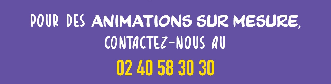 ANIMATIONS SUR MESURE